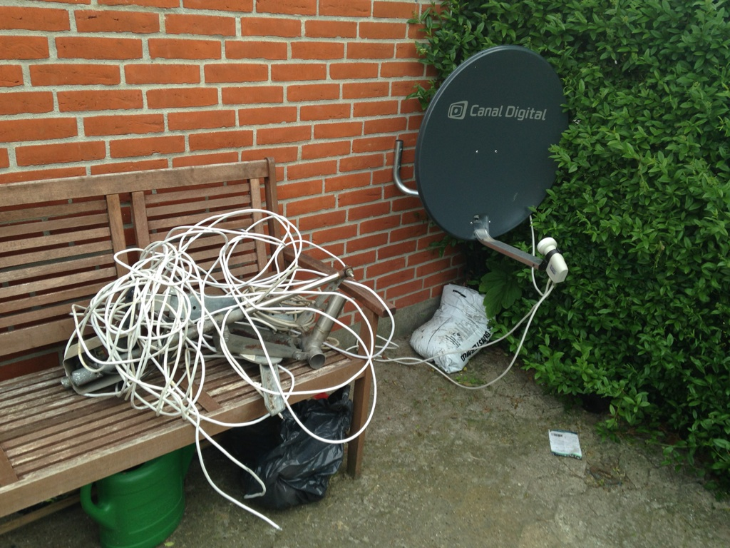 Parabol-TV opsætning og justering