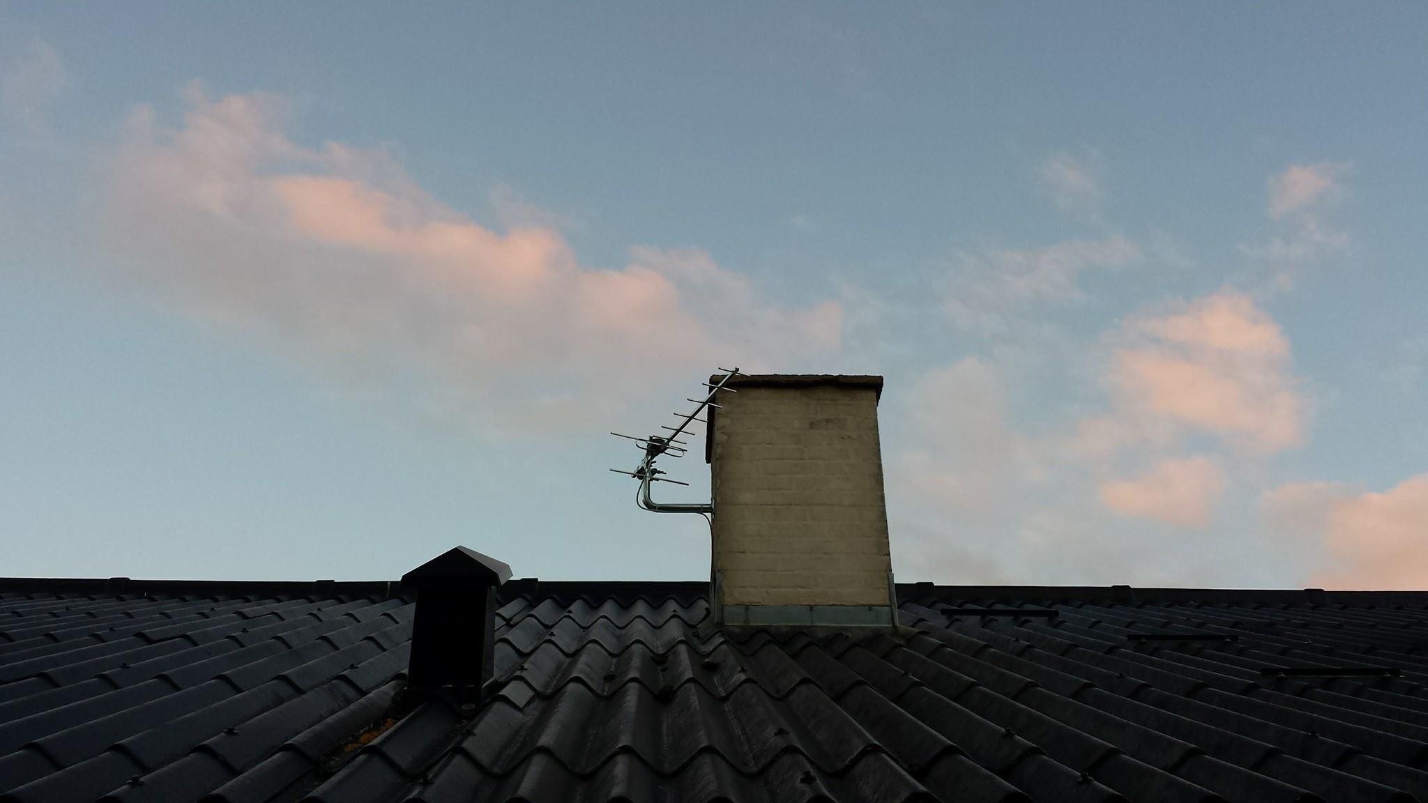 Antenne reparation og justering